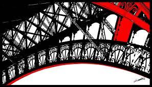 Peinture Noir Et Blanc by Peinture En Acrylique De La Tour Eiffel Pop Art Rouge Noir Et Blanc