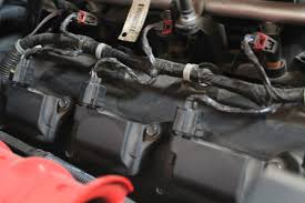 coil pack installation on a modern hemi street muscle