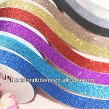 2017 wholesale cutting pu glitter ribbon buy pu glitter ribbon