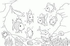 pout pout fish coloring page cecilymae