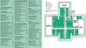 Map Store Central Mall Fort Smith 88 Stores Shopping In Fort Smith