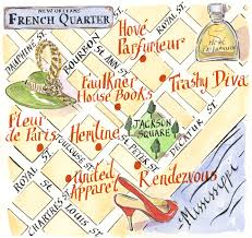 Bourbon Street New Orleans Map by New Orleans French Quarter Tourist Map And Map French Quarter