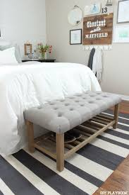 End Of Bed Bench King Size Best 25 Bed Bench Ideas On Pinterest Tiny Master Bedroom Cheap For