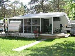 Rv Awning Screen Room Add A Room With Insulated Lodge Deck Screen Room Ideas