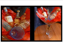 martini gift basket diy gift basket with