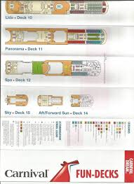 carnival valor deck plan cruise critic message board forums for