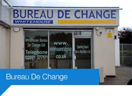 bureau de change a welcome to whitehouse retail limited