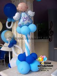 balloon centerpiece ideas party decorations miami baby shower balloon decorations