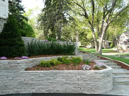 Front Yard Retaining Walls Landscaping Ideas - garden fascinating picture of small garden decoration using