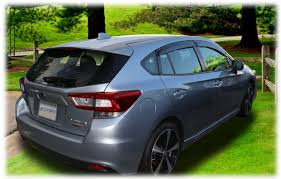 2017 subaru impreza hatchback rain guards for 2017 subaru impreza hatchback tape on outside