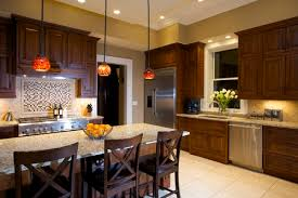 Contemporary Kitchen Pendant Lighting by Kitchen Pendant Lights Over Island Glass Countertop And Pendant