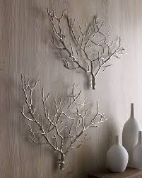 White Decorative Branches Branch Out Decorating With Branches Decorating Metals And Craft
