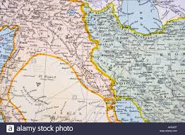 Kurdistan Map Partial Map Of Turkey Kurdistan Iraq Persia Middle East In 1890s