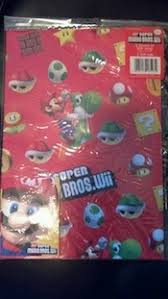 mario wrapping paper mario wrapping paper give away contest mario bros
