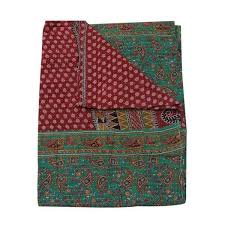 Throws For Sofa by Indian Style Organic Kantha Bedspread Bohemian Kantha Throws For Sofa