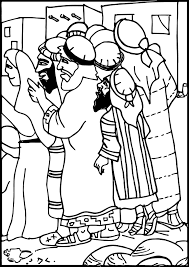 jesus and zacchaeus coloring page trendy jesus calls philip and