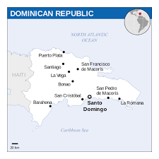 Map Dominican Republic Detailed Political Map Of Dominican Republic With Major Cities