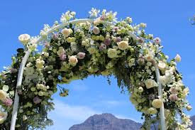 wedding arches cape town cape town wedding planner reflection nerita and robin s wedding