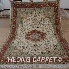 Fine Persian Rugs Yilong 6 U0027x9 U0027 Oriental Fine Persian Wool Carpet Exquisite Wool Silk
