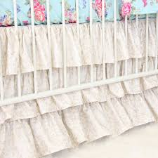 Gold Crib Bedding by Gold Crib Bed Skirt Creative Ideas Of Baby Cribs