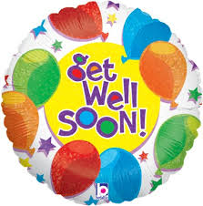 get well soon and balloons get well soon colorful balloon get well gifts free next day