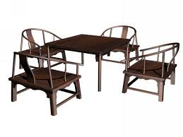 Oriental Dining Table by Chinese Furniture 3d Model Free Download Cadnav Com