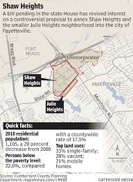Fort Bragg Map Fayetteville Wrangles Once Again Over Forced Annexation This Time