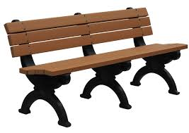 recycled plastic bench street furniture broxap