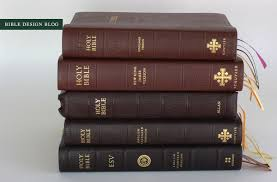 the kjv schuyler reference bible in antique mahogany goatskin