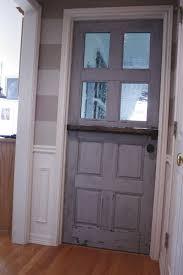 making a dutch door from an old door