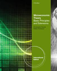 microeconomic theory 9781473704787 cengage