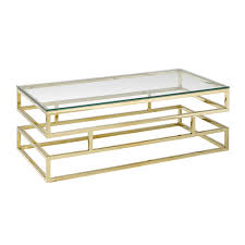 gold coffee table xcella