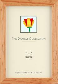 picture frames photo albums personalized and engraved digital the original daniels w41 classic square corner gallery woods 4x6 naturalstain wood by dennis danielsreg