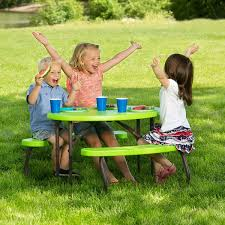 Folding Picnic Table With Benches 60132 24 13 16