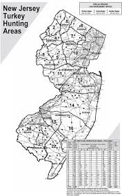 Map Of Warren County Nj Njdep Division Of Fish U0026 Wildlife Regulations