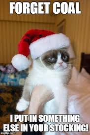 Stocking Meme - grumpy cat christmas meme imgflip
