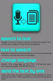 speech to text to speech android apps on google play