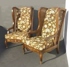 Wingback Wicker Chair Pair Wingback Chairs Ebay