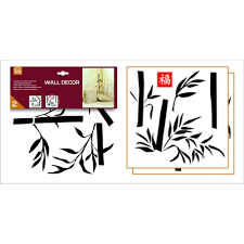 homeshop18 home decor home decor line graphic bamboo 54395 wall decals homeshop18