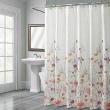 Stall Size Fabric Shower Curtain Buy Bath Stall Size Shower Curtains From Bed Bath U0026 Beyond