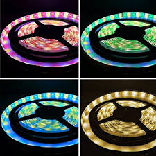 16 4ft 5m rgb warm white color changing led