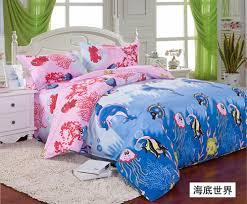 Frozen Comforter Full Size Aliexpress Com Buy Frozen Bedding Set Diamond Velvet Cotton