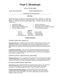 Banking Executive Resume Example 100 Executive Resume Samples Incredible Design Examples Of