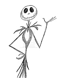 download jack skeleton coloring pages ziho coloring
