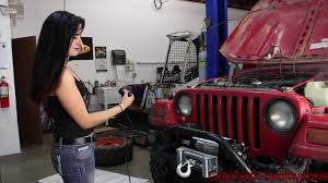 winch install with beauty and the beast youtube