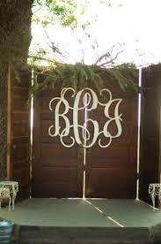 wedding backdrop monogram we could diy 18 inch paper roses wedding letter