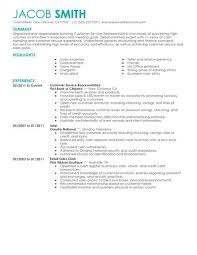Example Finance Resume best financial customer service representative resume example