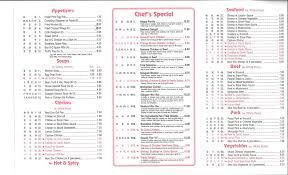 Buffet King Prices by Menu At King Buffet 227 Eisenhower Dr Restaurant Prices