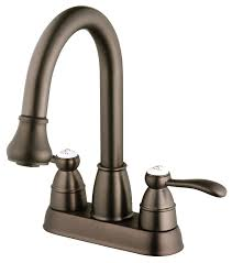 Bronze Kitchen Faucet Belle Foret Bfn60001orb Pull Down Spray Laundry Faucet Oil Rubbed
