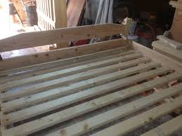 build your own king size bed frame for less than 90 ben hanna